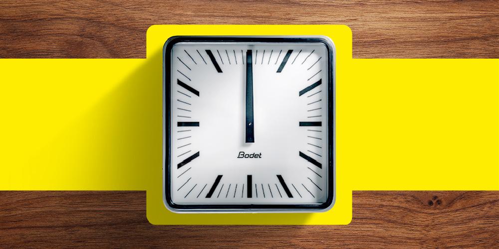 Une horloge iconique au poignet